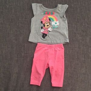 Minnie Mouse Set 12 Months Baby Girl